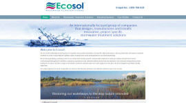 Ecosol Stormwater Management systems Portfolio