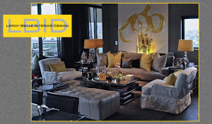 Leroy Belle Interior Design International Interior Designer website Launch Today